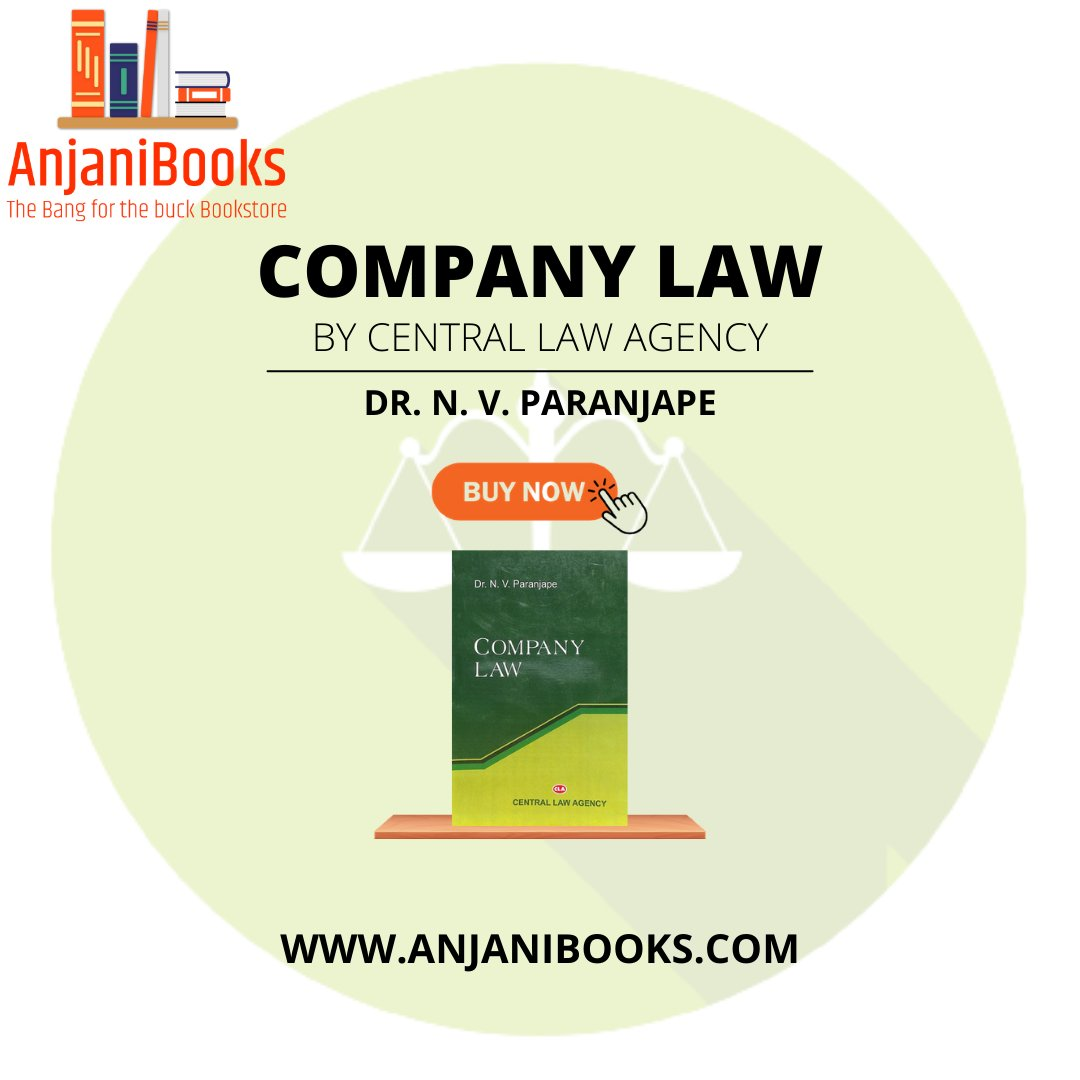 Company law book by Dr. N.V Paranjape Is now available at a very reasonable price Visit our website and purchase . . #law #books #supremecourt #bookstagram #highcourt #book #india #reading #justice #instagood #love #legal #bookworm #lawschool #booklover #bjp #read #court