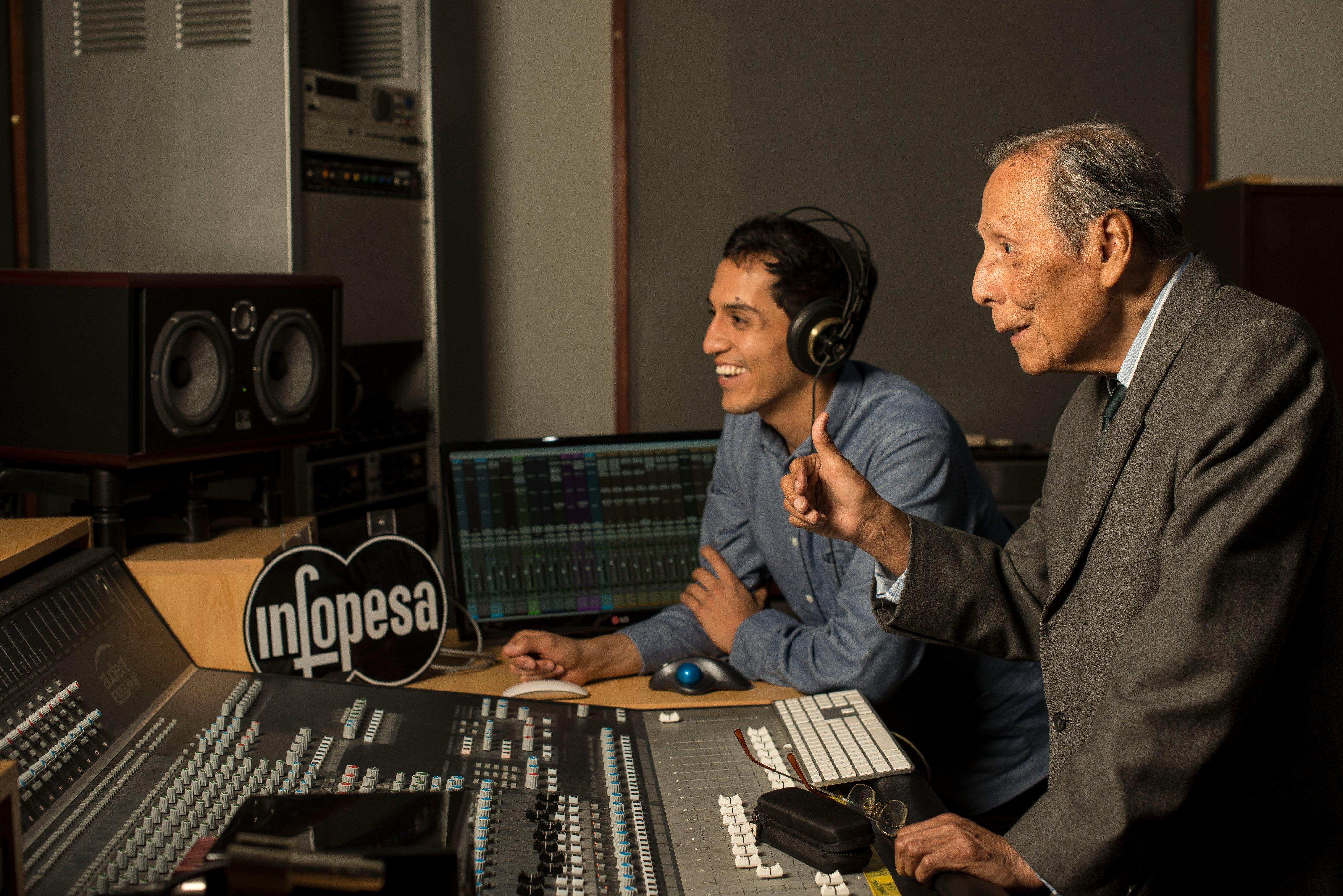 La música de luto: El gran productor, Alberto Maraví, partió a la inmortalidad