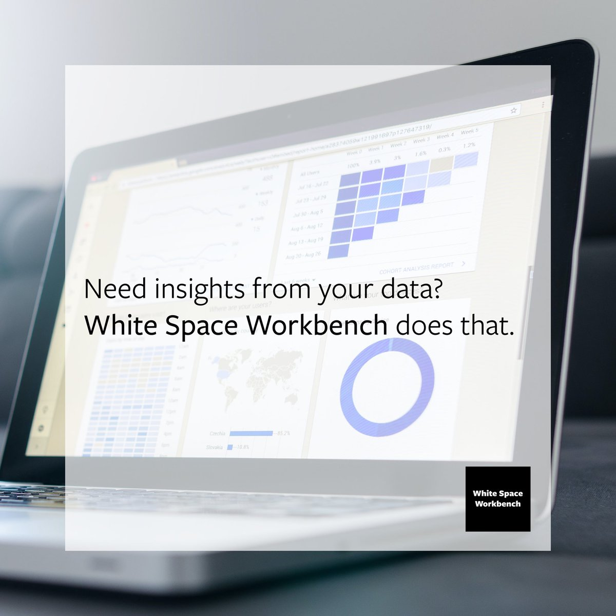 Data drives marketing. Your data tells the story of your customers - both individually and in total. White Space Workbench can help you unlock the power of your data and improve future marketing efforts.   #smallbusiness #marketing #data #smallbusinessmarketing