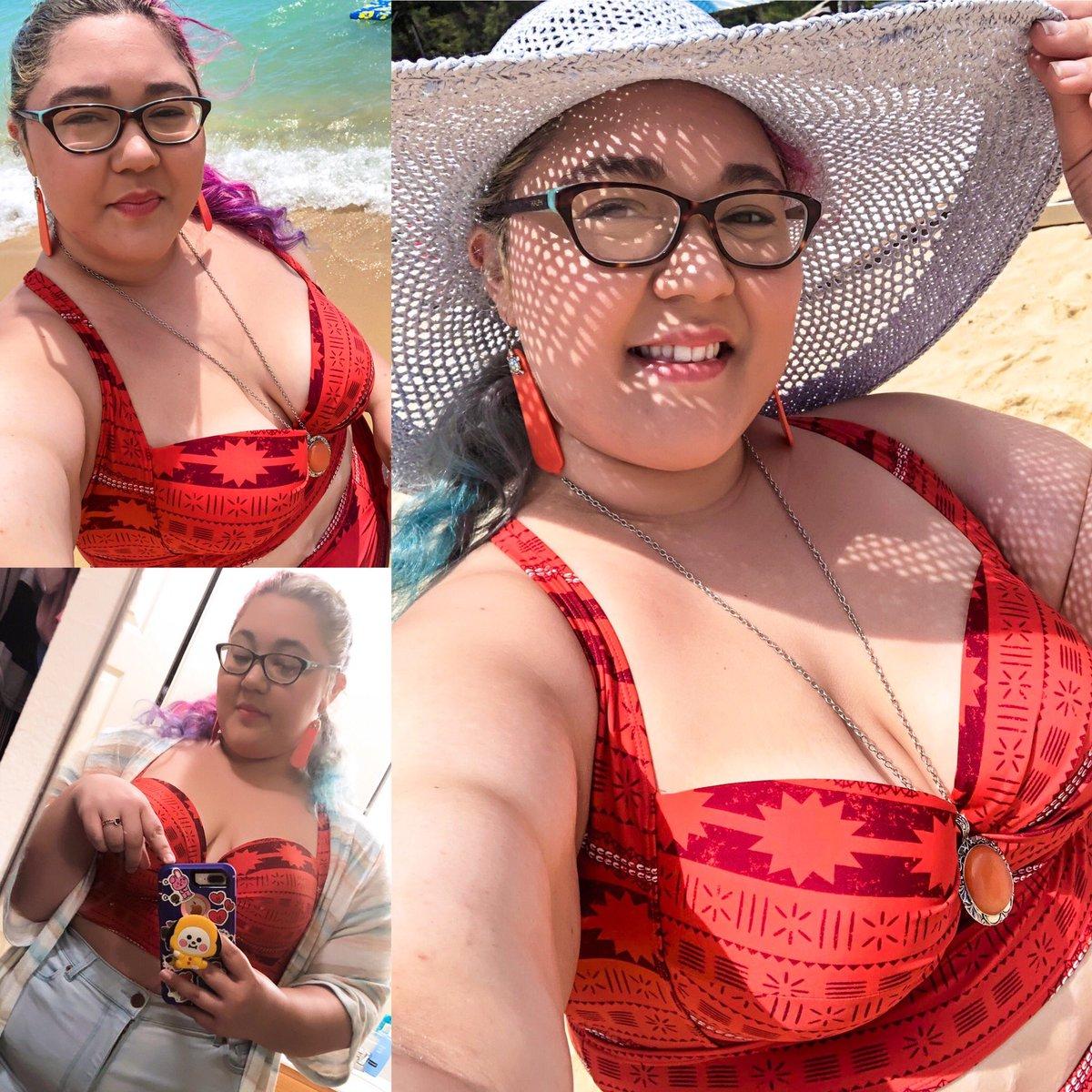 Beach 🏖 day kind of day ❤️ #hawaii #hawaiilife #beach #beachlife #sunnyday #torrid #plussizefashion #plussizegoddess #curvesoncurves #LoveMyself #loveyourself