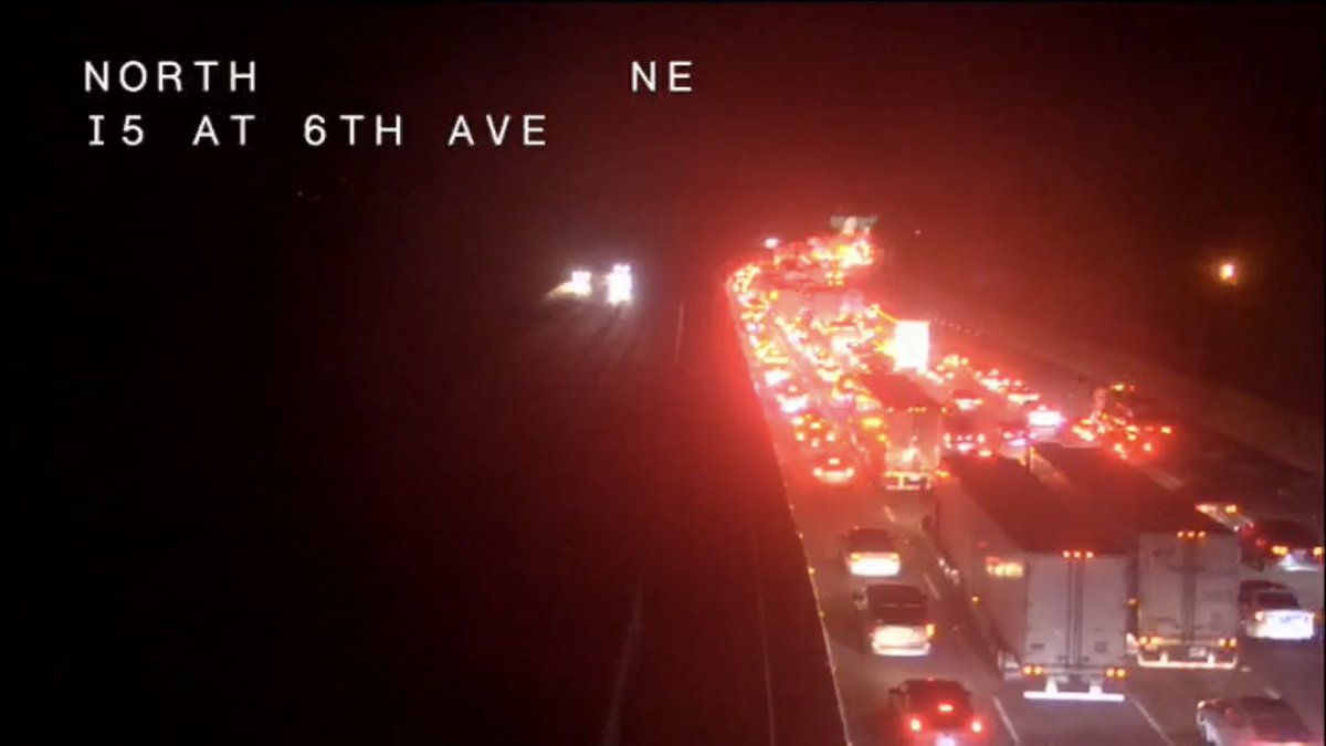 FINAL UPDATE: I-5 Northbound and the Eastbound connector to U.South. 50 have reopened