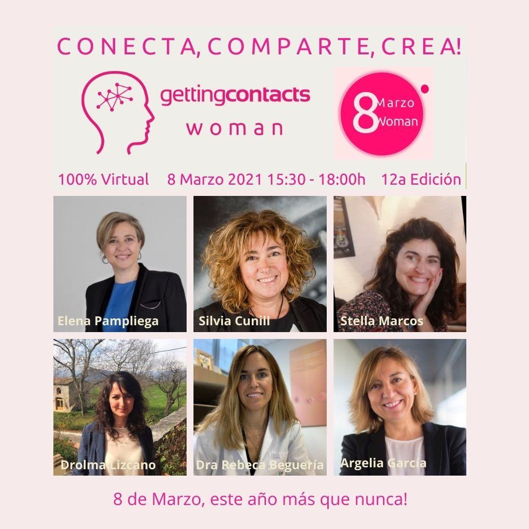 Mañana❗La Dra. @RBegueria, co-directora médica de la Unidad de #ReproducciónAsistidaTKN, participará en la 12a edición de Woman @gettingcontacts 2021.   📆 8 de marzo  ⏰15:30 h  🔗https://t.co/u7tWass9w7 https://t.co/sQ8YoCSQfr