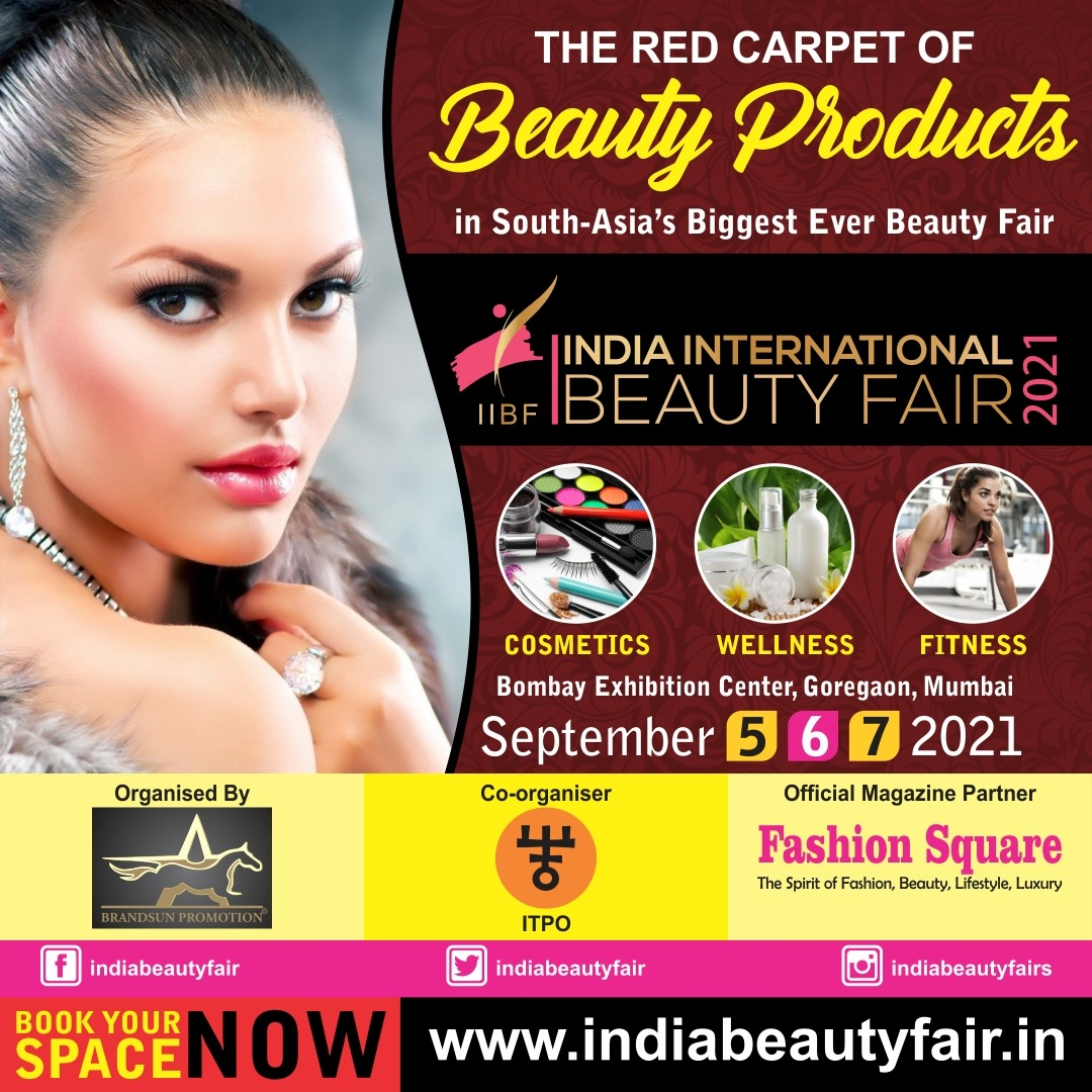 We are #OPEN for #booth #bookings at #indiabeautyfair  The Red Carpet of #beauty #products  #booknow #indiainternationalbeautyfair #brandsunpromotion #fashionsquarelive #cosmetics #Wellness #fitness #exhibition #Exhibitors #exhibit #mumbai #skincare #beautiful #luxury