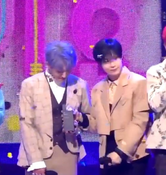 ontae said lets hold the trophee together 🥺🥺 #DontCallMe4thWin