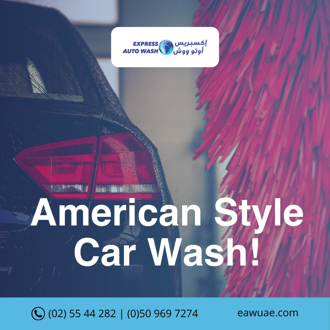 Car wash services in Abu Dhabi Mushrif Mall, just like in America! 🇺🇲  Message us on WhatsApp for latest offers and deals:  ☎ +97125544282 #customerreffral #autocarwash #expressgold #inabudhabi