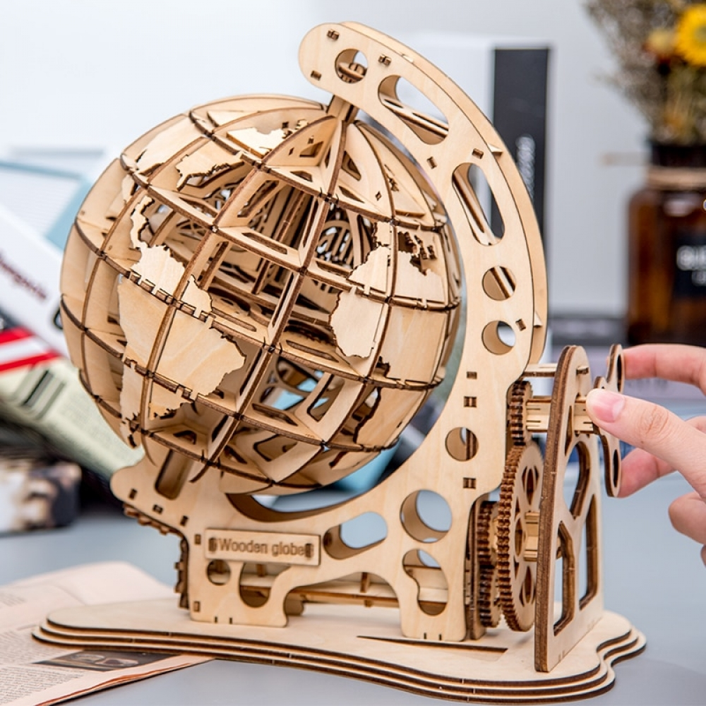 ROKR 3D DIY Rotatable Globe Puzzle #toycollection #baby