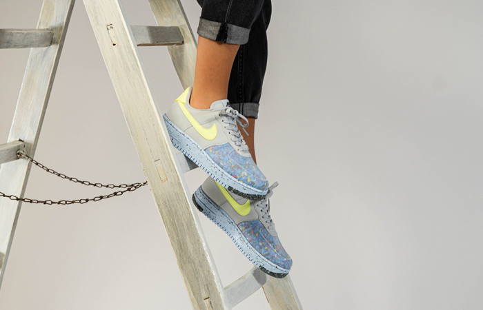 Nike Womens Air Force 1 Crater Chambray Blue Still Here!!  END> BSTN> SNS>  #nike #womens #airforce #blue #exclusive #phenomenal #fashiongoals #classic #trendy #latest #top #hit #instock #stylelicious #fastsole