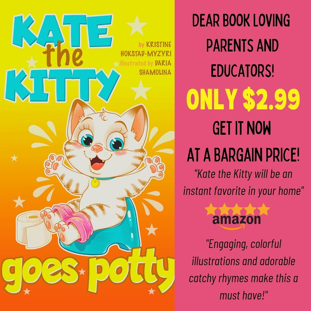 Perfect book for 0-4 year olds!  #toddler #toddlerlife #childrensbooks #toddleractivities #catlovers #inspirationalbooks #momswhowrite #kittykawaii #potty #pottytraining #baby #newindiereleases #preschoolbooks #fungifts #babyshower #babygift #firstbday