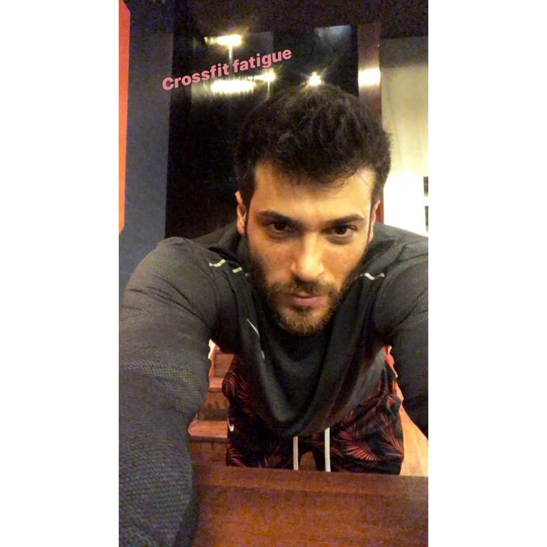 #tbt🔙📸 selfie 7/03/2020  ‼❤ Crossfit fatigue❤‼  #ricordi #CanYaman