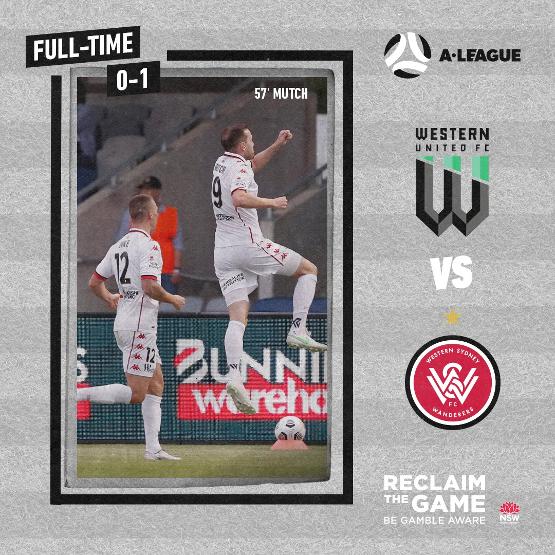 An important three points and clean sheet on the road. #WSW #WUNvWSW