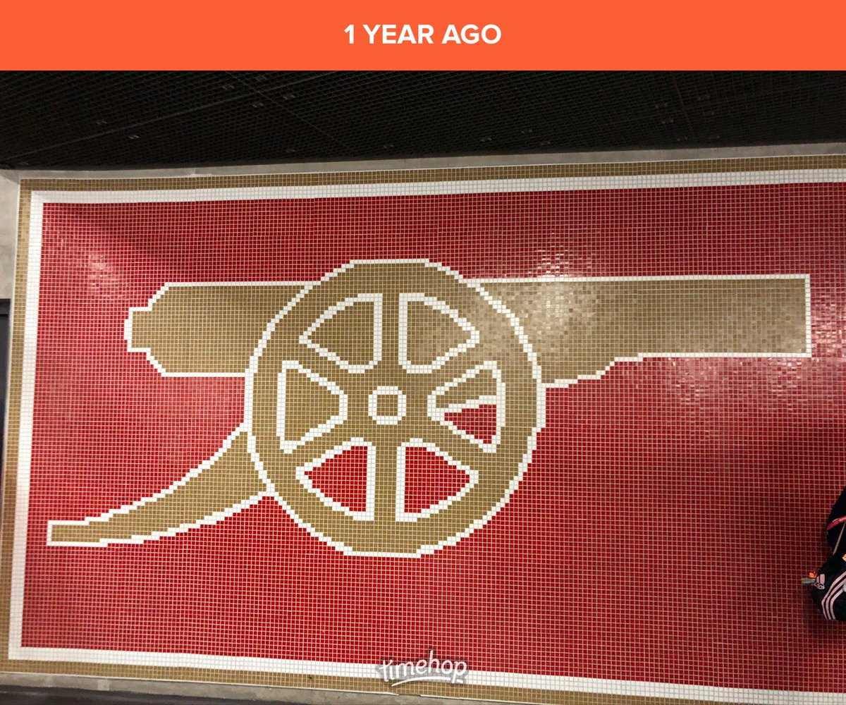 One year since my last live @Arsenal match and real crowd noises. Didn't think then I wouldn't be back for ages. Despite their inconsistency I do really miss it.  #block13 #AFC #absencemakestheheartgrowfonder