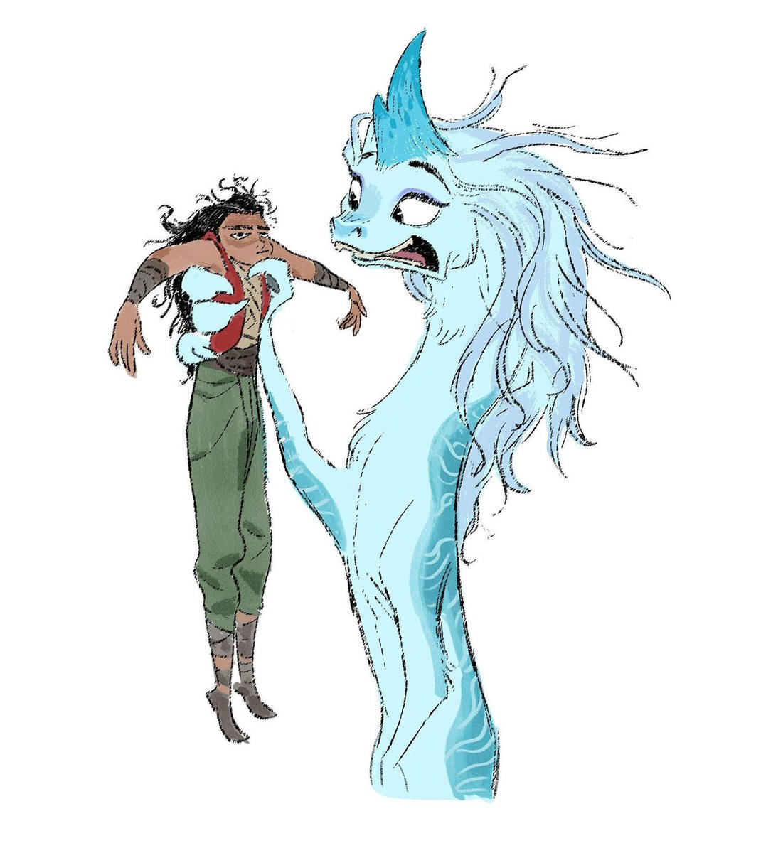 Raya et le Dernier Dragon [Walt Disney - 2021] - Page 23 Ev3dIlLWQAMXDNV