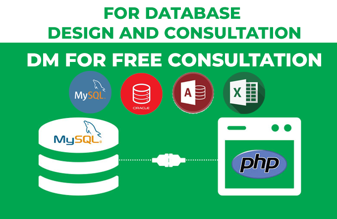 Do you need help in designing the Entity Relationship Diagram? Let us have a discussion on Oracle, MySQL or Ms Access database. #mysql  #oracledev #cloud  #DatabaseBackup #nosql   #UFC259 #whitemanlostintexas Try Now -->