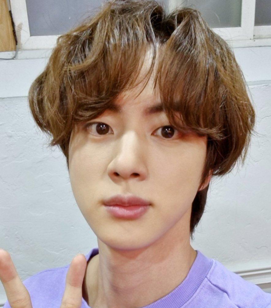 Replying to @demseokdimple: Fluffy Jin                         Fluffy Seok