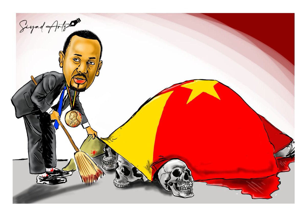 No matter hard they try, the truth about Tigray genocide will come out #SiyadArts #ArtSpeaks #TigrayGenocide #Tigray