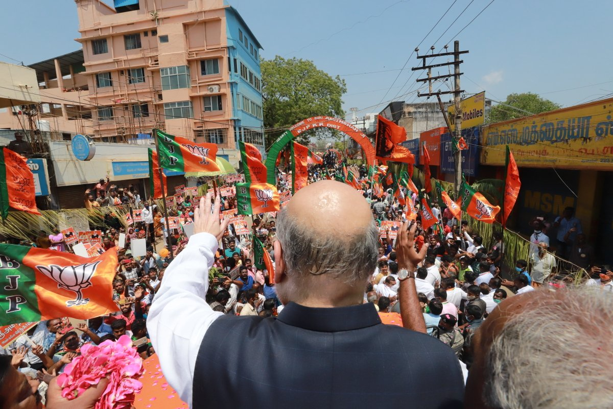 I thank my sisters and brothers of Nagercoil, Kanyakumari who joined the roadshow in large numbers.