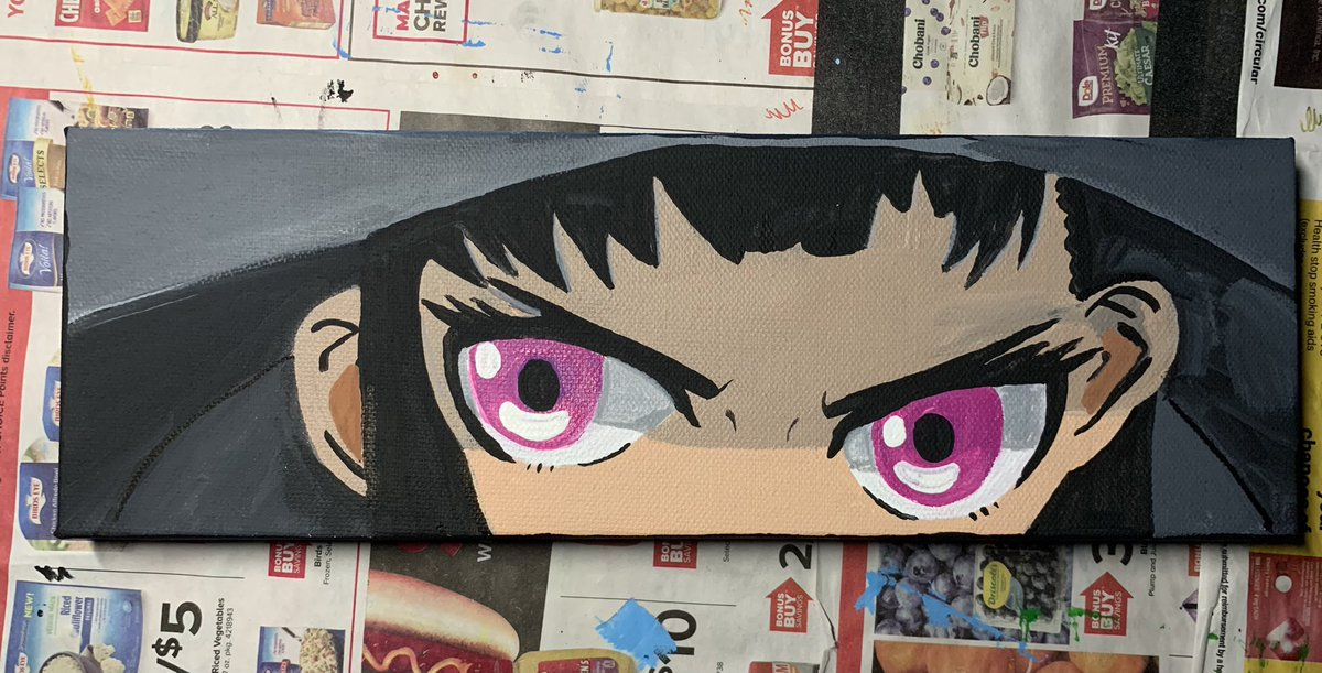 my girl - Maki Oze #FireForce painted by me :))