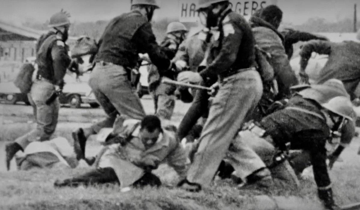 A reminder of what #GoodTrouble often looked like - as we mark the 56th anniversary of #BloodySunday #Selma #JohnLewis