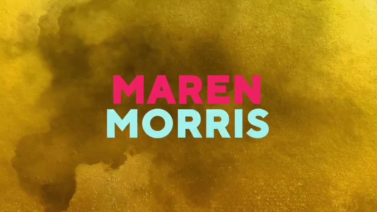 We're in the homestretch––one week before #GRAMMYs! Current GRAMMY nominee, @MarenMorris, is set to perform at Music's Biggest Night. Watch music magic unfoldMarch 14th at 8pm ET/5pm PT on @CBS: