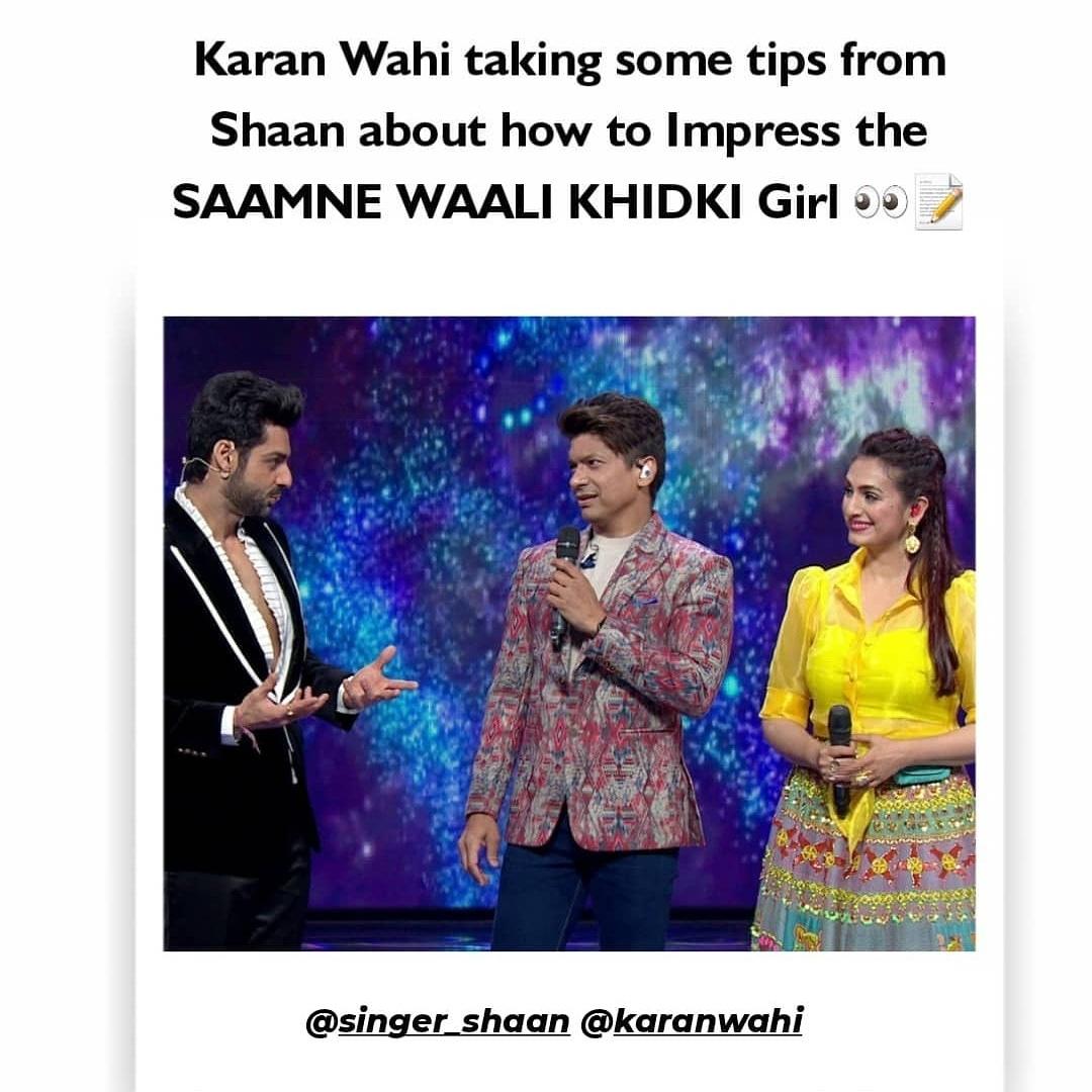 @karan009wahi @singer_shaan #IndianProMusicLeague #Karanwahi