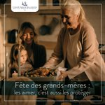 Image for the Tweet beginning: La fête des #grands-mères est