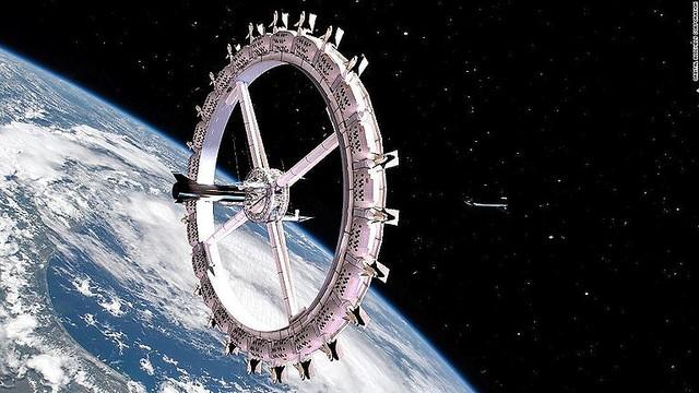 宇宙ホテルの構想が発表、早ければ2027年には宇宙に宿泊できる?