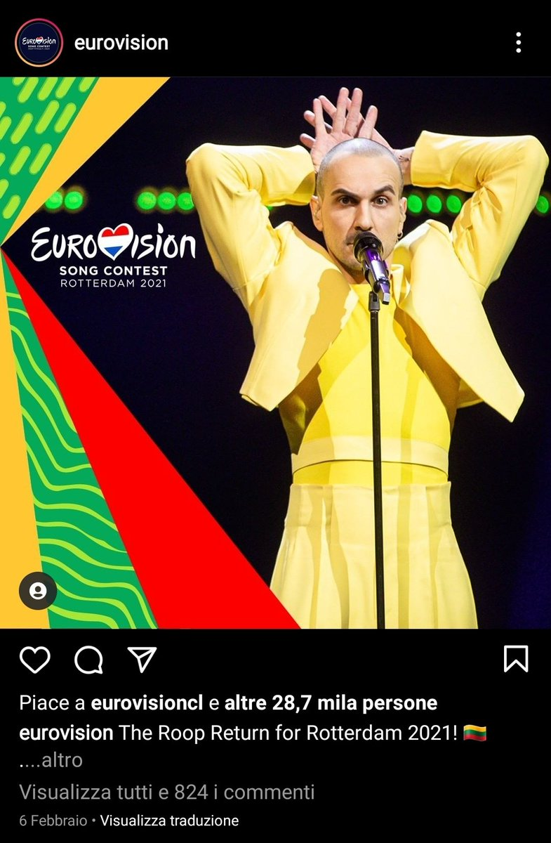 #Eurovision2021