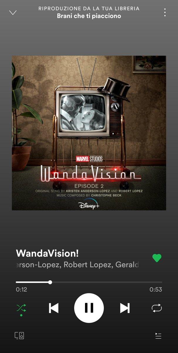 mio padre ha detto che vuole vedersi #WandaVision io: