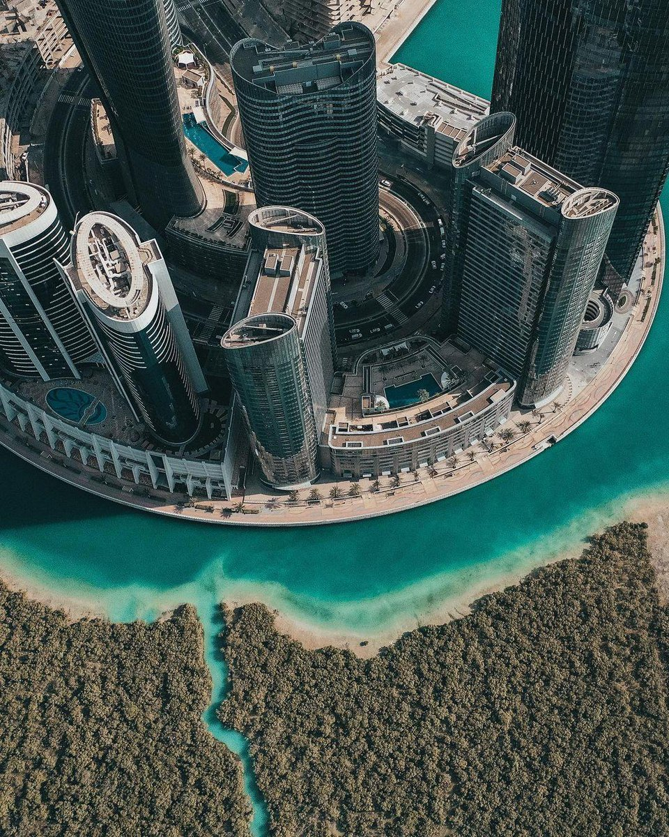 Towering skyscrapers and lush mangroves - two contrasting sceneries that blend so beautifully #InAbuDhabi! Who has trie...  #KeysofAbuDhabi