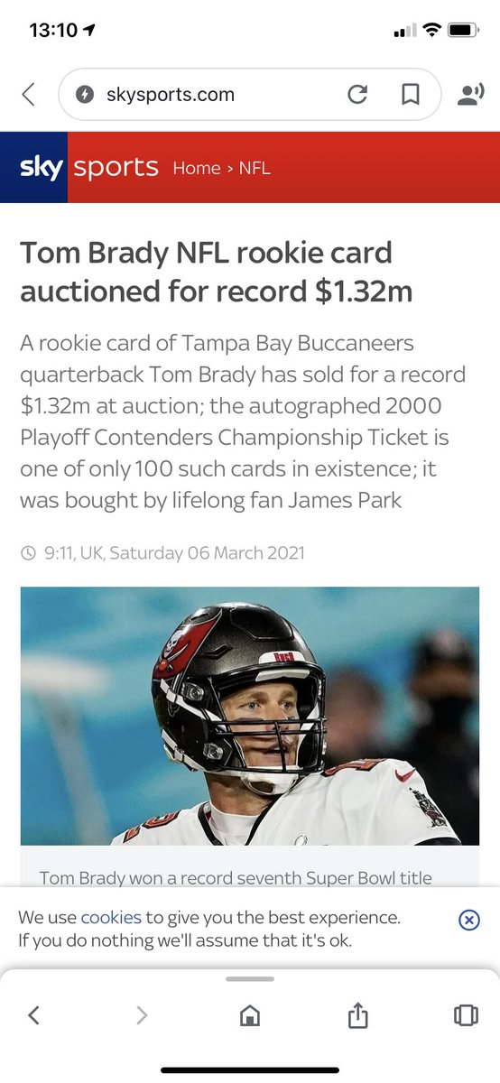 How much? #TomBrady #GOAT #NFL