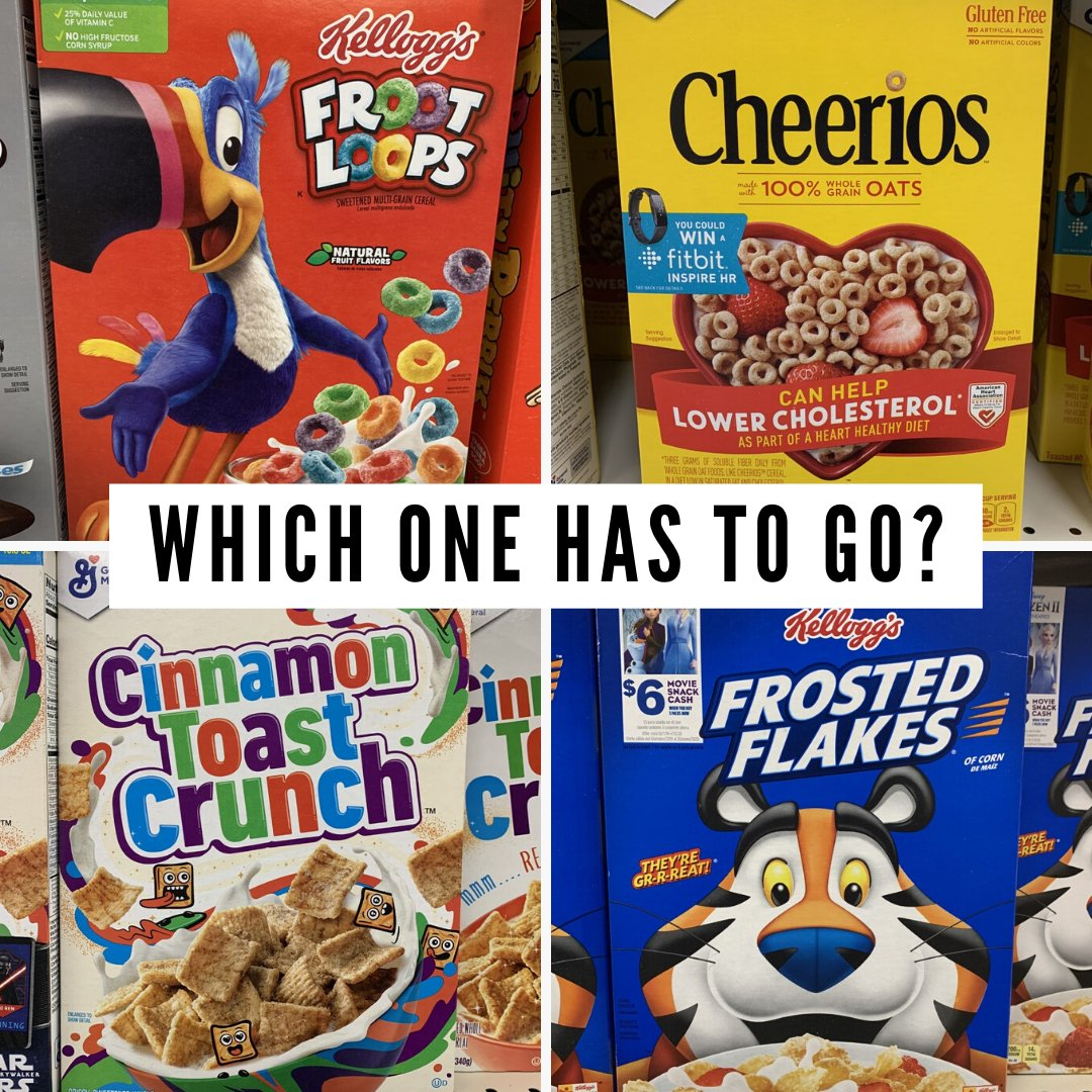 We've got the tough questions for National Cereal Day ...