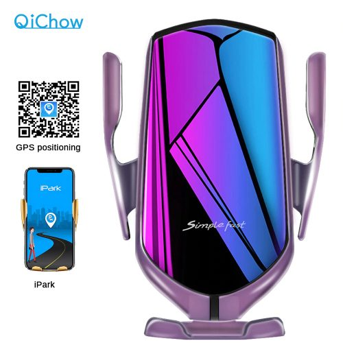 10W Qi Wireless Charger In Car For Iphone 8 X XS MAX Automatic Car Phone Holder Fast Wireless Charger For Samsung S9 S10    #volgopoint #onlineshopping #shopping #اليوم_العالمي_للمراه #inabudhabi
