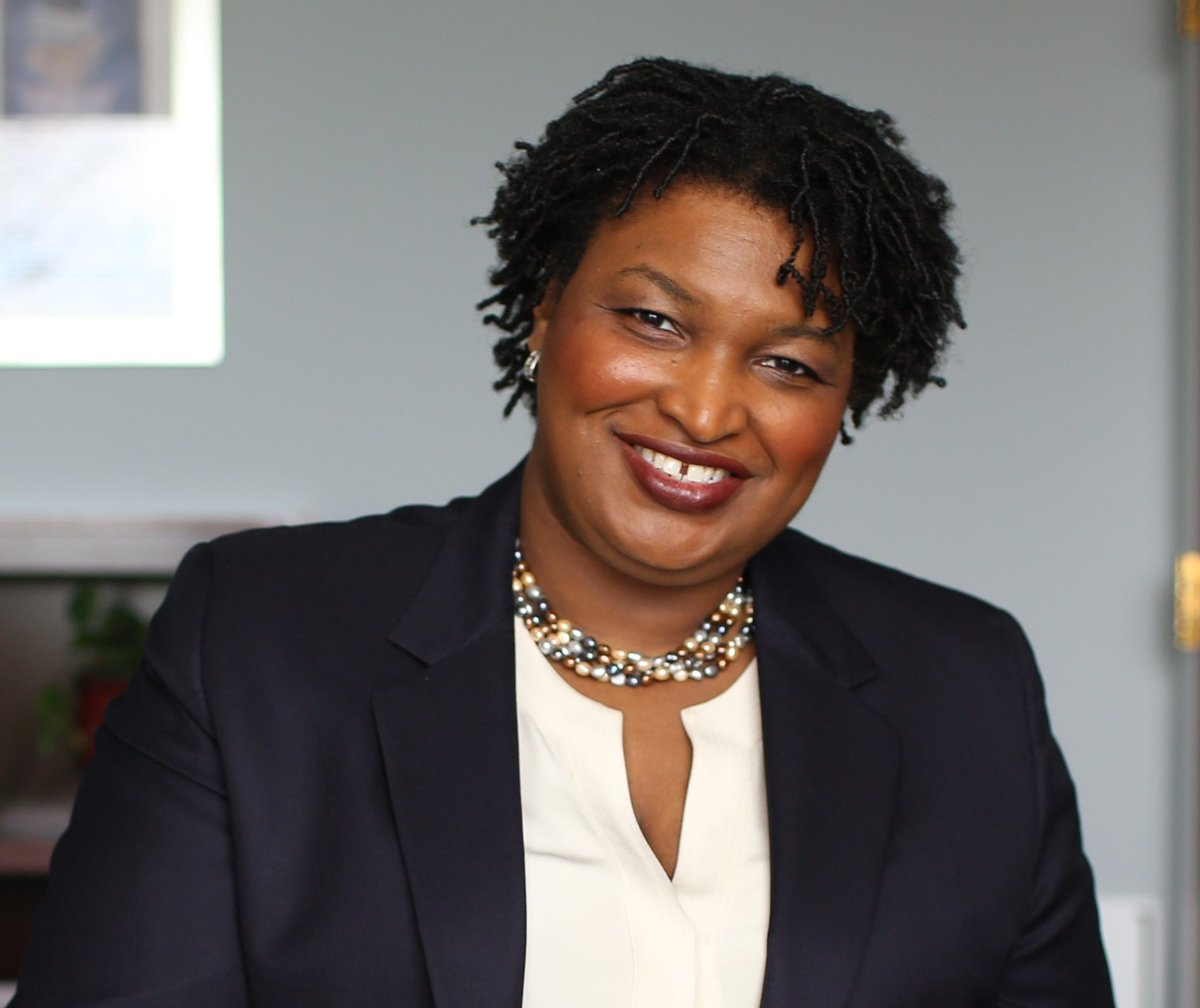 I would rather emulate Stacey Abrams than Melania Trump. She's truly gorgeous in my book.