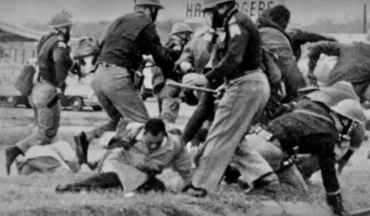 Near-fatal beating of John Lewis, Bloody Sunday, Selma, today 1965: