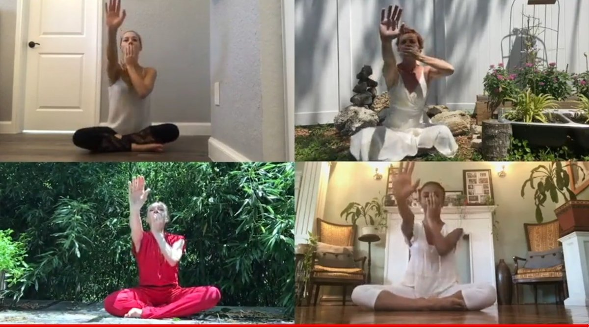 Today, at noon, come together work us for the Table of Silence Project Meditation Variation and Live Chat on YouTube.  #SundayMorning #SundayMotivation #SundayThoughts