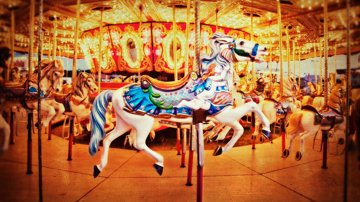 Report: If It Weren't For Covid, You'd Be On A Carousel Right Now