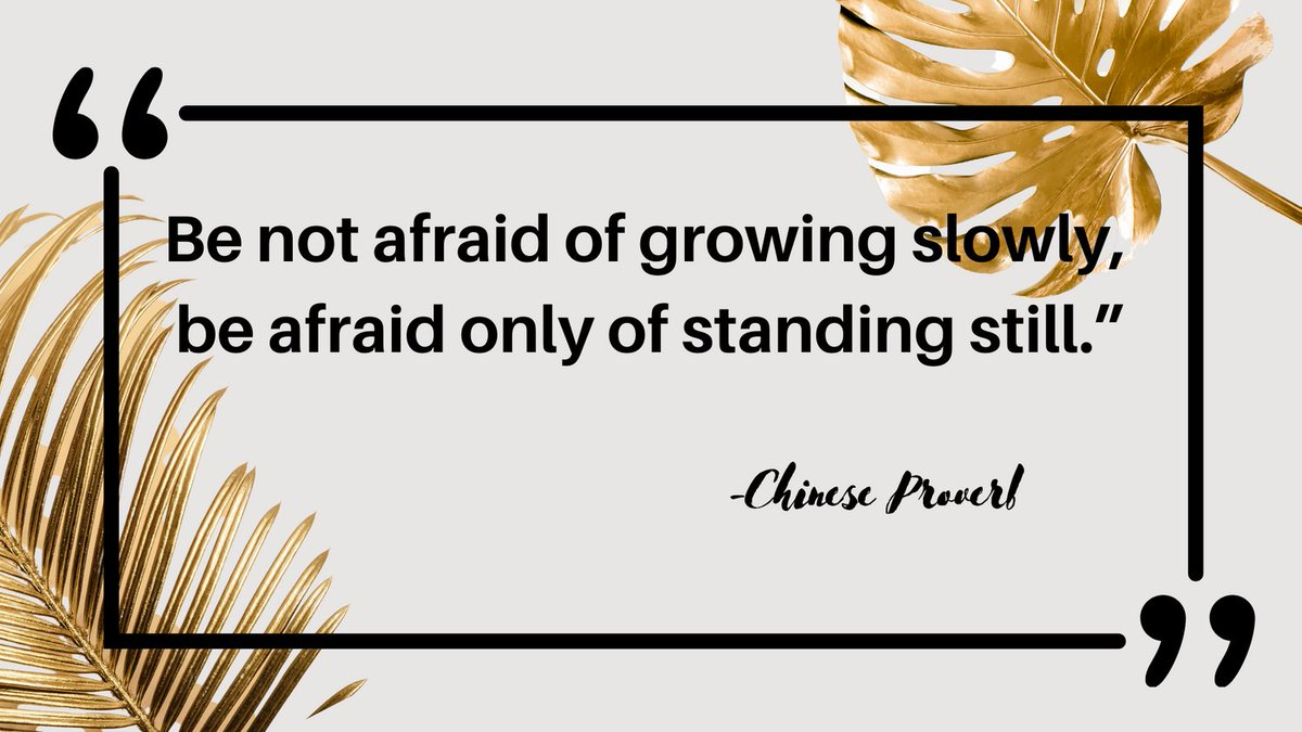 """☀️Quote of the Day: """"Be not afraid of growing slowly, be afraid only of standing still.""""- Chinese Proverb Happy #sundaythoughts #sundaymood #sundayvibes #sundayfeels #weekend #behappy #healthyliving #beautifulday"""