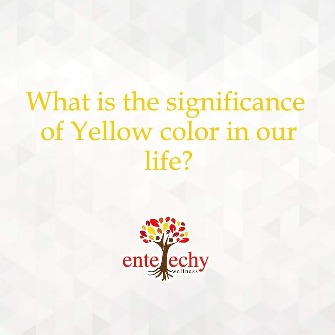 Yellow is the color of happiness and it always provokes the feeling of joyousness inside us.  Do you wear yellow deliberately when you're feeling sad?  #entelechywellness #yellow #photography #india #love #nature #instagood #instagram #green #photooftheday #blue #red #beautiful