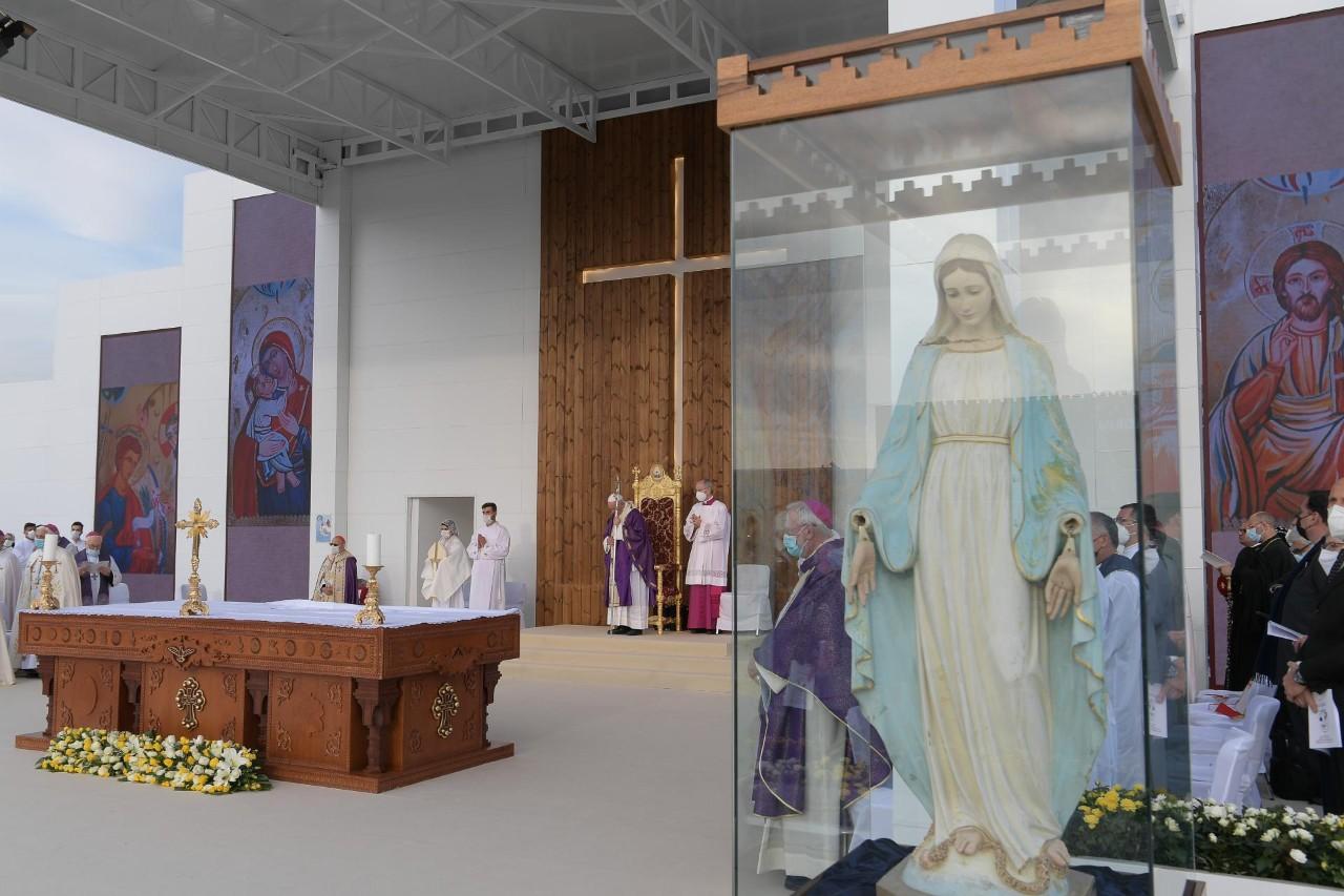 La Virgen mutilada de Erbil