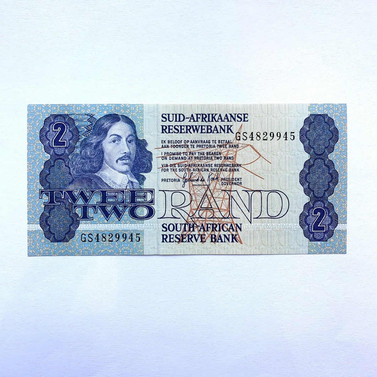 Thanks for the great review Erik D. ★★★★★!  #etsy #southafrica #southafrican #banknote #currency #note #bills #rand #janvanriebeek #mandela