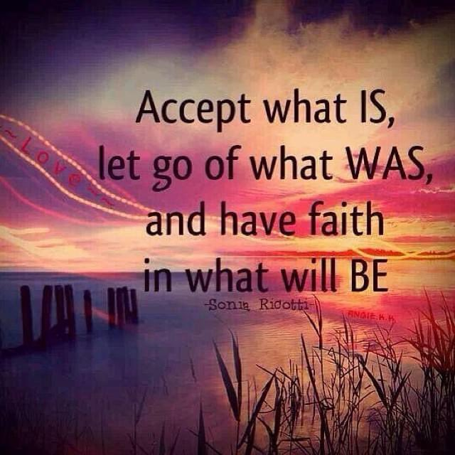 Accept what is, let go of what was, and have faith in what will be! #sundaymorning #sundaymotivation #SundayFunday #sundayvibes #sunday #motivation #quotes #quote #Inspiration #inspirationalquotes #inspirational