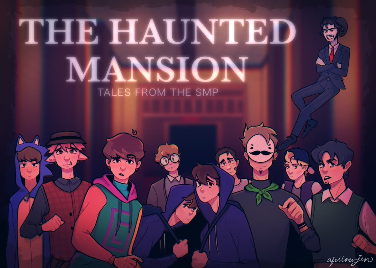haunted mansion type beat   #TalesFromTheSMP #TalesFromTheSMPArt #karljacobsfanart