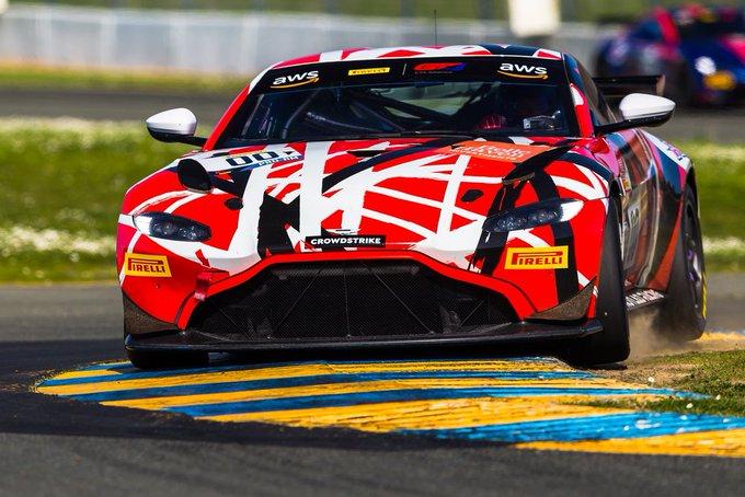Race time... Three Aston Martin…