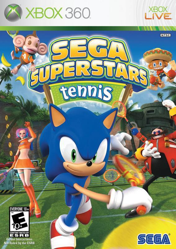 Experience a fun tennis match using cool powers and select Sega characters such as Sonic in Sega Superstars Tennis #xbox360 #xbox #games #videogames #tennis