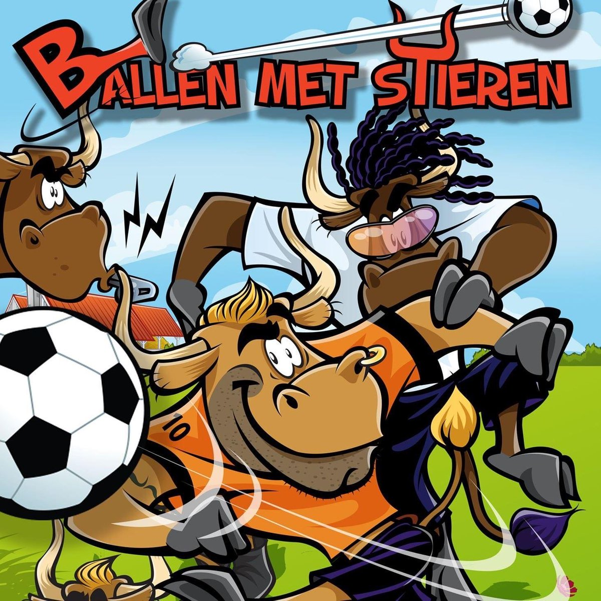 test Twitter Media - The Game Master komt in juni met het tweepersoonskaartspel Ballen met Stieren. https://t.co/b3ofXydWR0