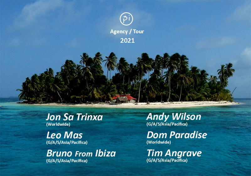 ☀️PI Agency / Tour 2021 let the 🎧 play soon again ❤️ #dj #artists #roster #tour #booking #festival #club #private #party #balearic #house #indie #dance #chill #events #beachclub #natural #good #vibes #jonsatrinxa #leomas #brunofromibiza #andywilson #timangrave #domparadise