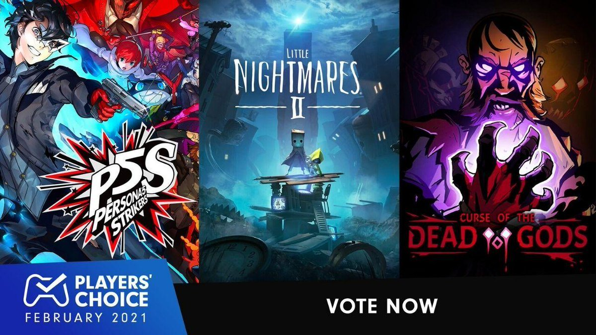 Today's your last chance to vote for February's best new game! Catch the Players' Choice poll before it closes: