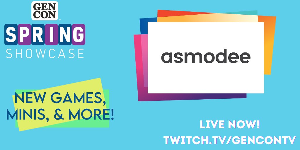 test Twitter Media - First up this morning for Spring Showcase, @Asmodee_USA is showing off some of their amazing upcoming products, including a special sneak peek! 👀 https://t.co/jEl8dXyBpF