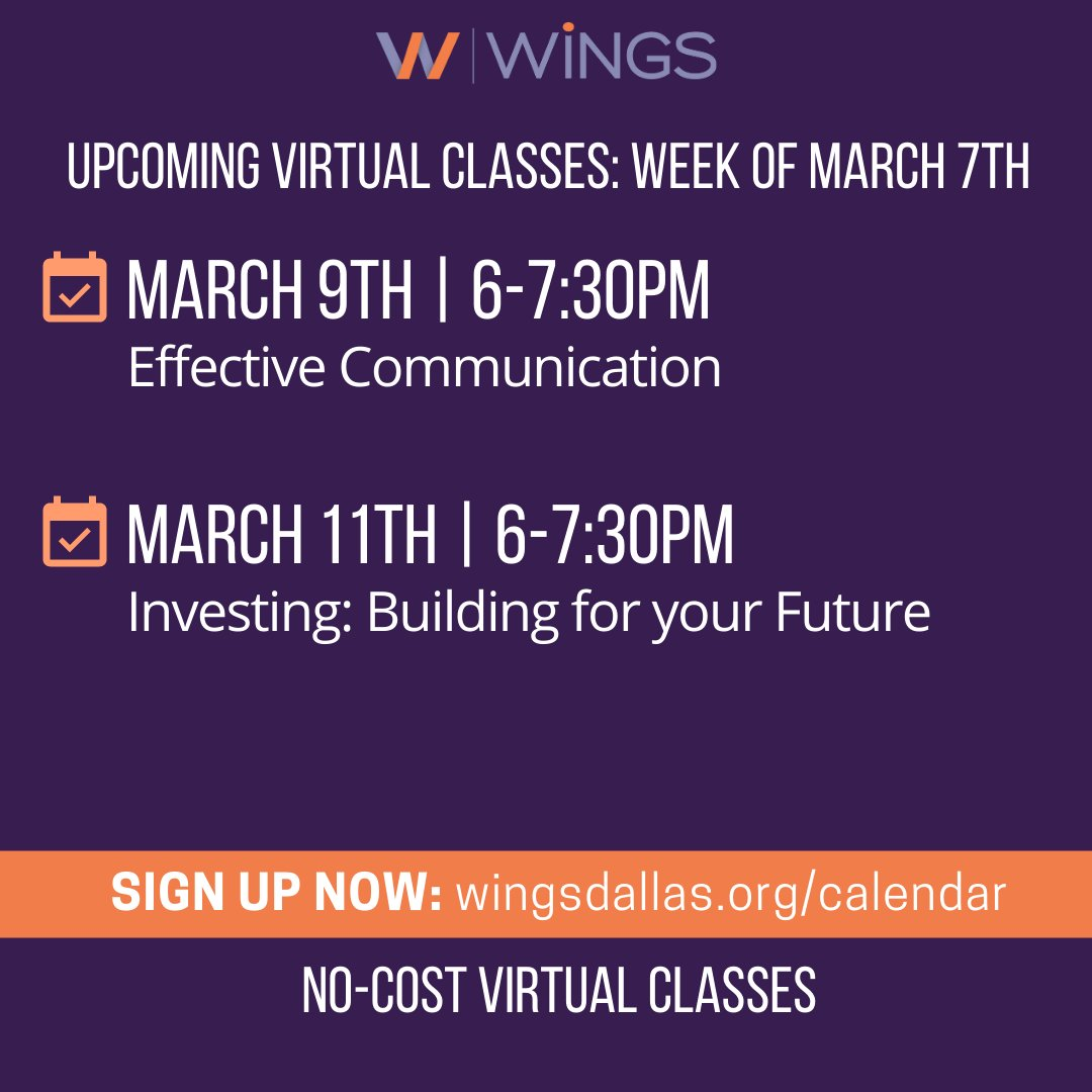 test Twitter Media - This week we're excited to bring you classes to help you in your career AND finances! We'll start with Effective Communication, then join us later in the week for an investment class! Register at https://t.co/VaAFMOs4HS https://t.co/0YHHDVo03R