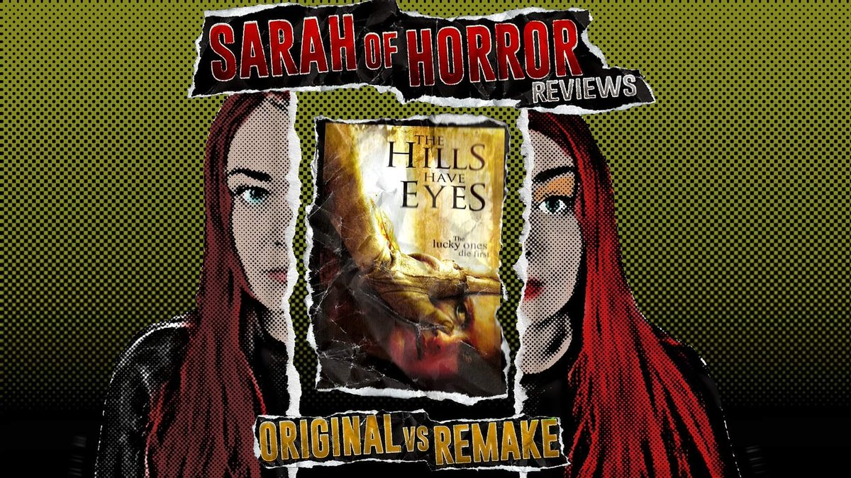 A new Original vs Remake review is up and today I review The Hills Have Eyes 2006. Check out the video here:  ❤️ 👀  #Horror #OriginalVsRemake #thehillshaveeyes #youtube